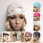 Lace Hair Head Wraps for Women