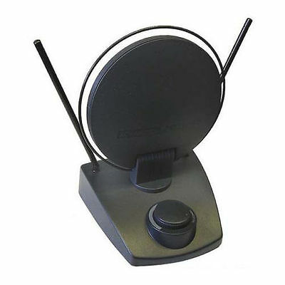 Eagle 25/30 dB Indoor Amplified TV Antenna UHF VHF FM Local HDTV Channels for sale  Shipping to India