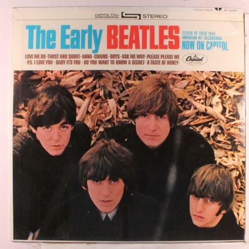 The Early Beatles Records Ebay