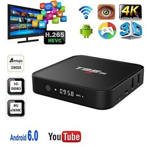BRAND NEW ANDROID TV 6.0 T95M ULTRA 4K S905X TV/MOVIES IPTV 2018
