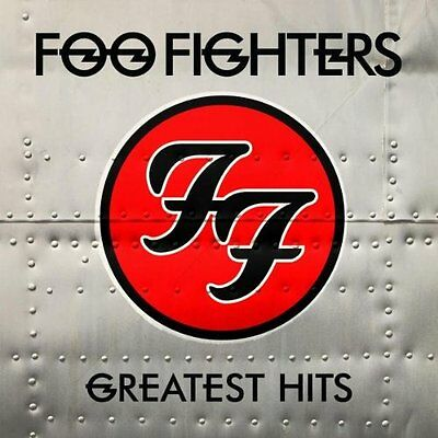 FOO FIGHTERS - GREATEST HITS 2 X VINYL ALBUM (2009)