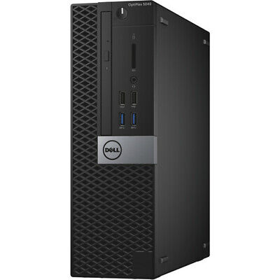 Dell OptiPlex 5050 SFF Desktop i5 3.4 GHz 8GB RAM 500GB Windows 10 Pro H002V