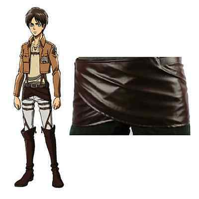 Attack on Titan Cosplay Shingeki no Kyojin Leather skirt hookshot belt - Cosplayers On Halloween