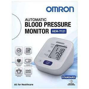 Omron HEM7121 Standard Upper Arm Blood Pressure Monitor Casula Liverpool Area Preview