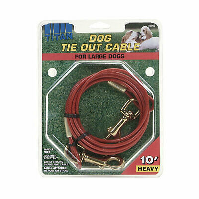 Coastal Pet Products Titan Heavy Cable Dog Tie Out
