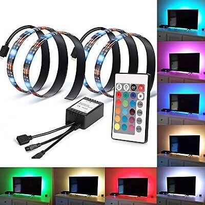 LED Strip Light Home Theater TV Backlight Lighting Kit Bias