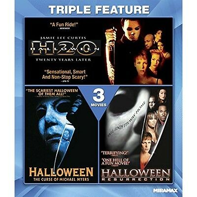 The Halloween Collection: H20 / Curse of Michael Myers / Resurrection | - The Movie Halloween H20