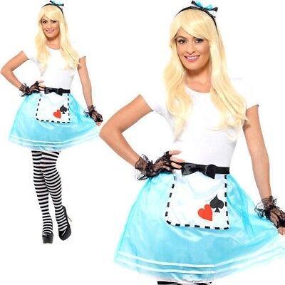 Erwachsene Wunderland Verkleidung Satz Alice Buch Woche Tag - Wunderland Outfit