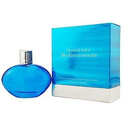 Mediterranean By Elizabeth Arden 3 3   3 4 Oz Edp Perfume For Women New In Box