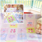 Numbers & Letters Nursery Bedding