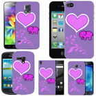 Violet Mobile Phone Cases, Covers & Skins for Samsung Galaxy S4 Mini
