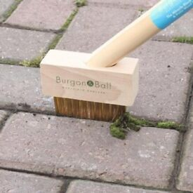 Burgon & Ball Miracle Block Paving & Patio Weed Brush Weeds Moss Removal too