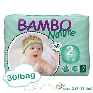 Bambo Nature size 2 diapers