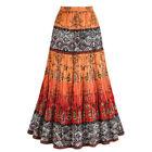 Crinkle Tribal Skirts for Women
