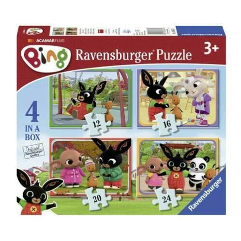 Ravensburger 4-in-1 Bing Bunny puzzel
