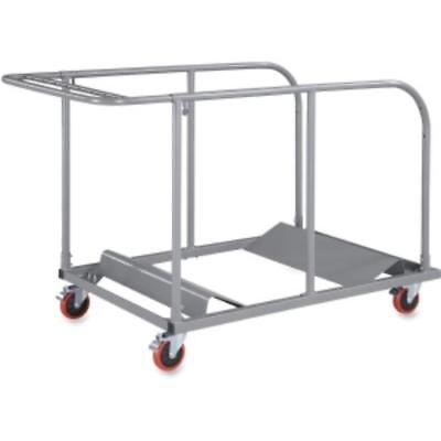 "Lorell Round Planet Table Trolley Cart - Steel - 32.8"" X 52"" X 40.2"" - Charcoal for sale  Jonestown"