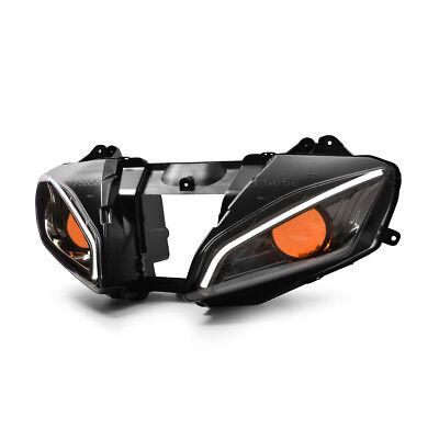 KT LED  Headlight Assembly for Yamaha YZF R6 2006 2007 Orange