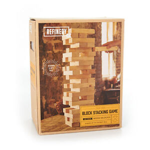 Jumbo Wood Block Stacking Game (like Jenga) Brand New in Box