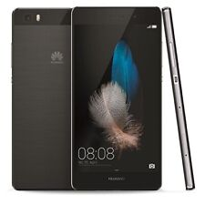 Huawei P8 Lite black 16GB LTE 4G 5Zoll Android Smartphone Handy ohne Vertrag WOW