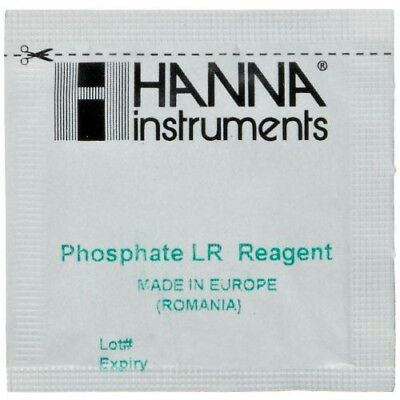 HANNA INSTRUMENTS HI713 PHOSPHATE LOW RANGE REAGENTS 25 TEST Phosphate Low Range