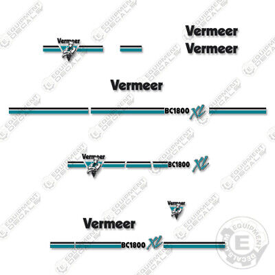 Vermeer Bc1800 Xl Chipper Decal Kit Bc 1800 Xl