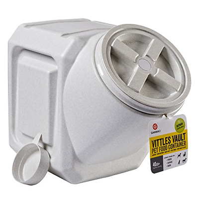 Vittles Vault Outback Stackable 40 lb Airtight Pet Food Storage Container