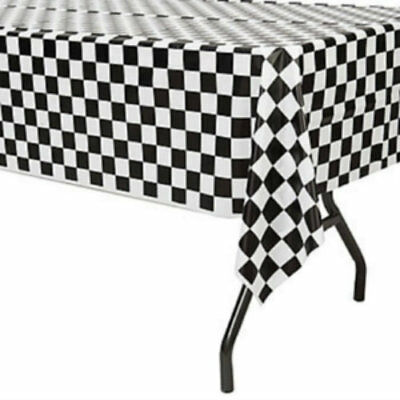 Checkered Flag Table Cover - Checkered Table Covers