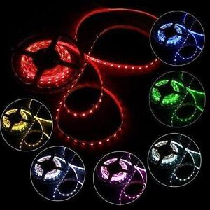 5M 3528 SMD 300 LED Strip Light String Ribbon Tape Roll iP33 Raw and IP65 Waterproof 12V DC