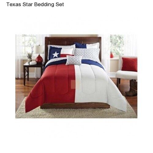 New Texas Star King Size Comforter Set Bedding Bedspread