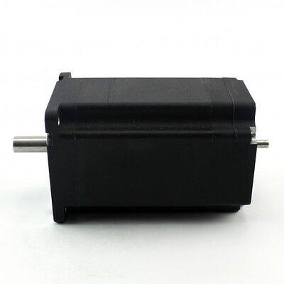 1 Pcs Nema34 Brushless Dc Motor Dual Shaft