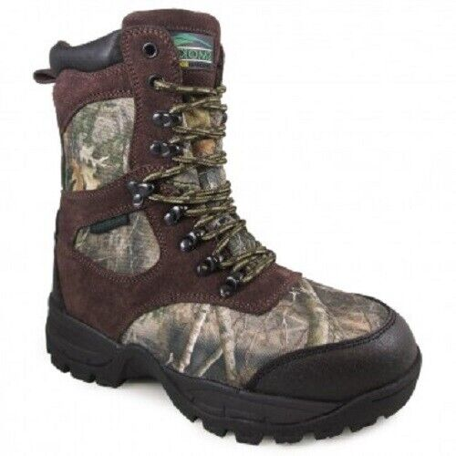 Smoky Mountain Mens Sportsman Camo Textile Hunting Boots size 12