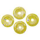 Yellow Loose Lampwork Beads