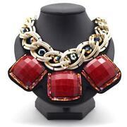 Halskette Rot