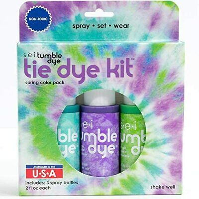 Tie-Dye Kits DIY Clothing Crafts Fabric Painting Decorating Markers NEW