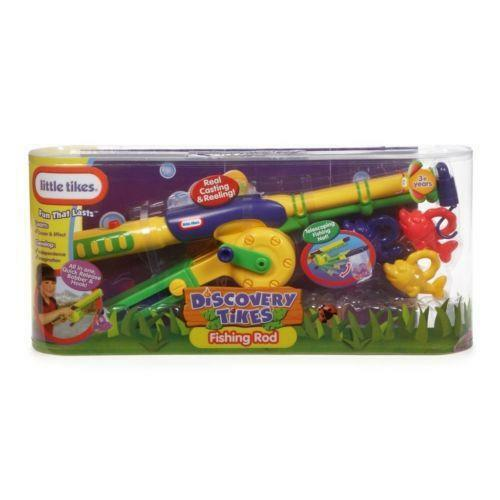 Little tikes fishing ebay for Fisher price fishing pole