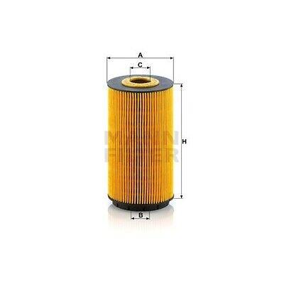 1 Ölfilter MANN-FILTER HU 8010 z passend für VAG