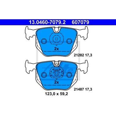 1 Bremsbelagsatz, Scheibenbremse ATE 13.0460-7079.2 passend für BMW LAND ROVER