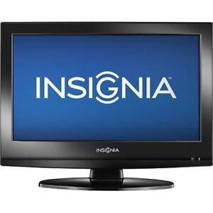 """Insignia 19"""" LCD TV with built-in DVD player  720p HD Television"""