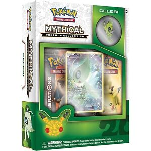 Pokemon Mythical Collection-Celebi Box with Pin