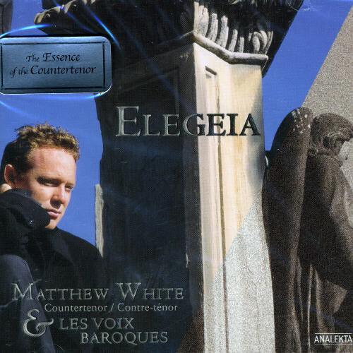 Matthew White - Elegeia [New CD] Canada - Import