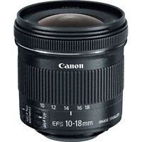 Canon EF-S 10-18mm f/3.5 IS STM Lens 10/10 Under Warranty