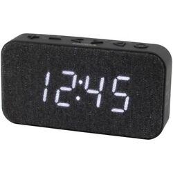 Jensen JCR-229 USB Charging Sleep/Snooze FM Digital Dual Alarm Clock Radio