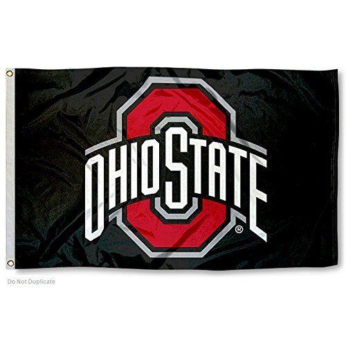 OHIO STATE BUCKEYES FLAG 3'X5'  OSU OHIO STATE UNIVERSITY: F