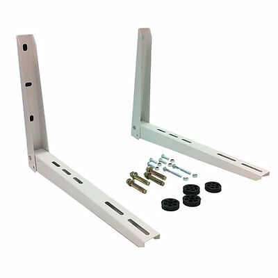 Wall Mounting Bracket Set for Mini Split System Air Conditioners (2 Piece)