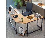 Office desk. Corner 'L' shaped desk by Tribesigns