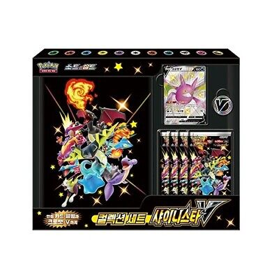 Pokemon Card Game Sword & Shield Collection Set Shiny Star V Box-Korean Version