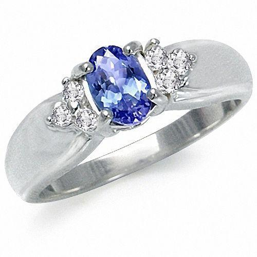 tanzanite engagement ring ebay. Black Bedroom Furniture Sets. Home Design Ideas