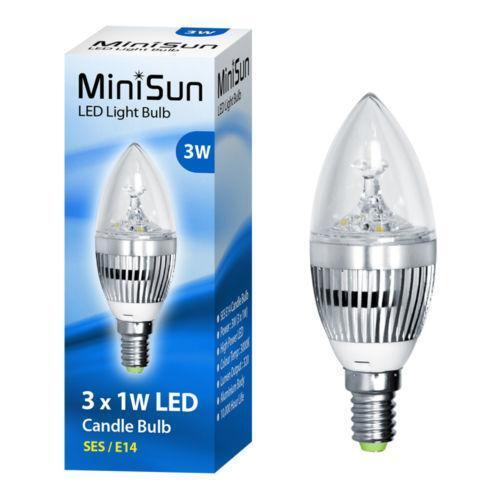 E14 Ses Led Light Bulbs Ebay