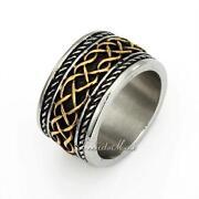Mens Celtic Ring