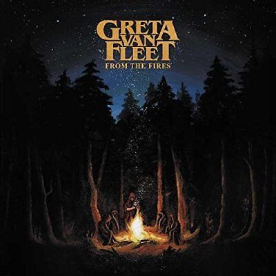 65 Sold  Greta Van Fleet   From The Fires   Cd   New   Free Shipping